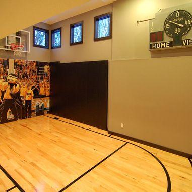 Indoor Basketball Court Design Ideas Pictures Remodel And Decor Basketball Room Indoor Basketball Court Basketball Court Flooring
