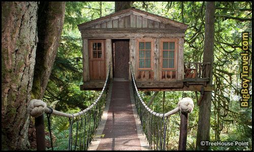 best treehouse hotels in the world top 10 treehouse point pete nelson washington