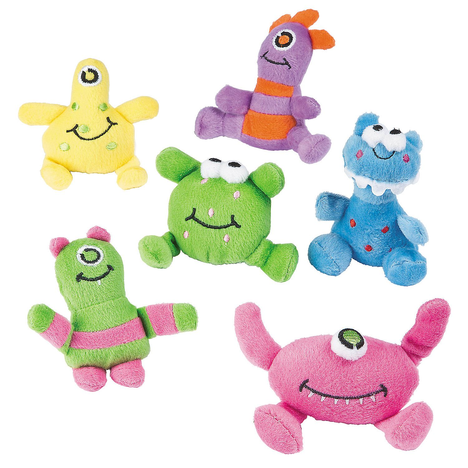 Plush Monsters Cheap toys for kids, Monster 1st