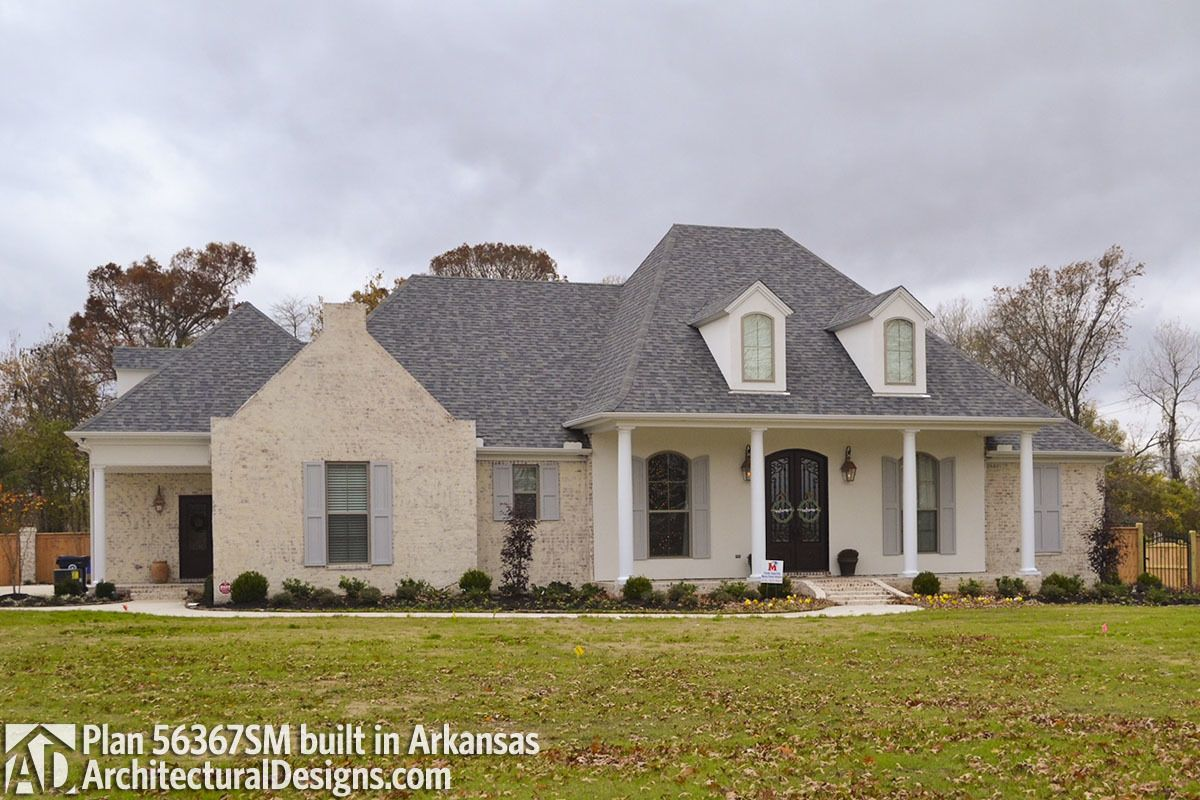 Plan sm roomy french country home plan in for the home
