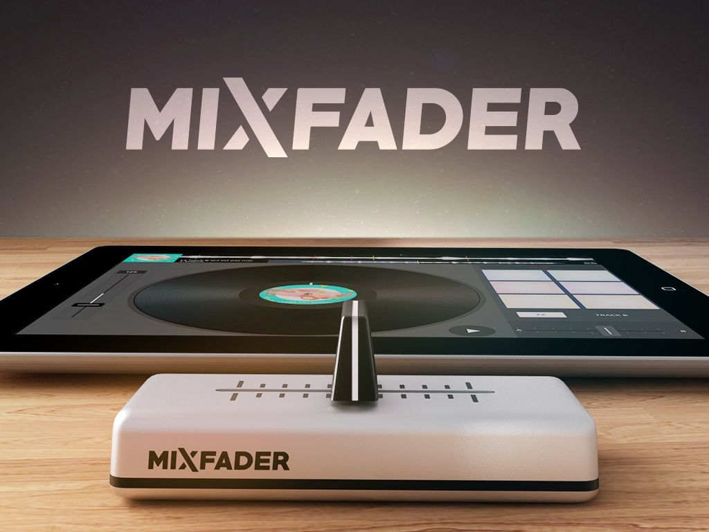 Connect Mixfader to your smartphone or tablet and perfect