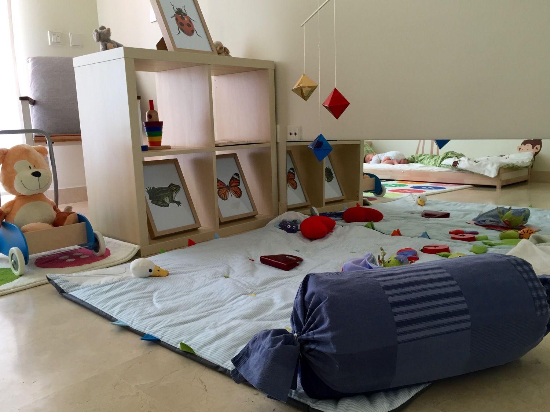 aménagement Montessori : espace d'éveil