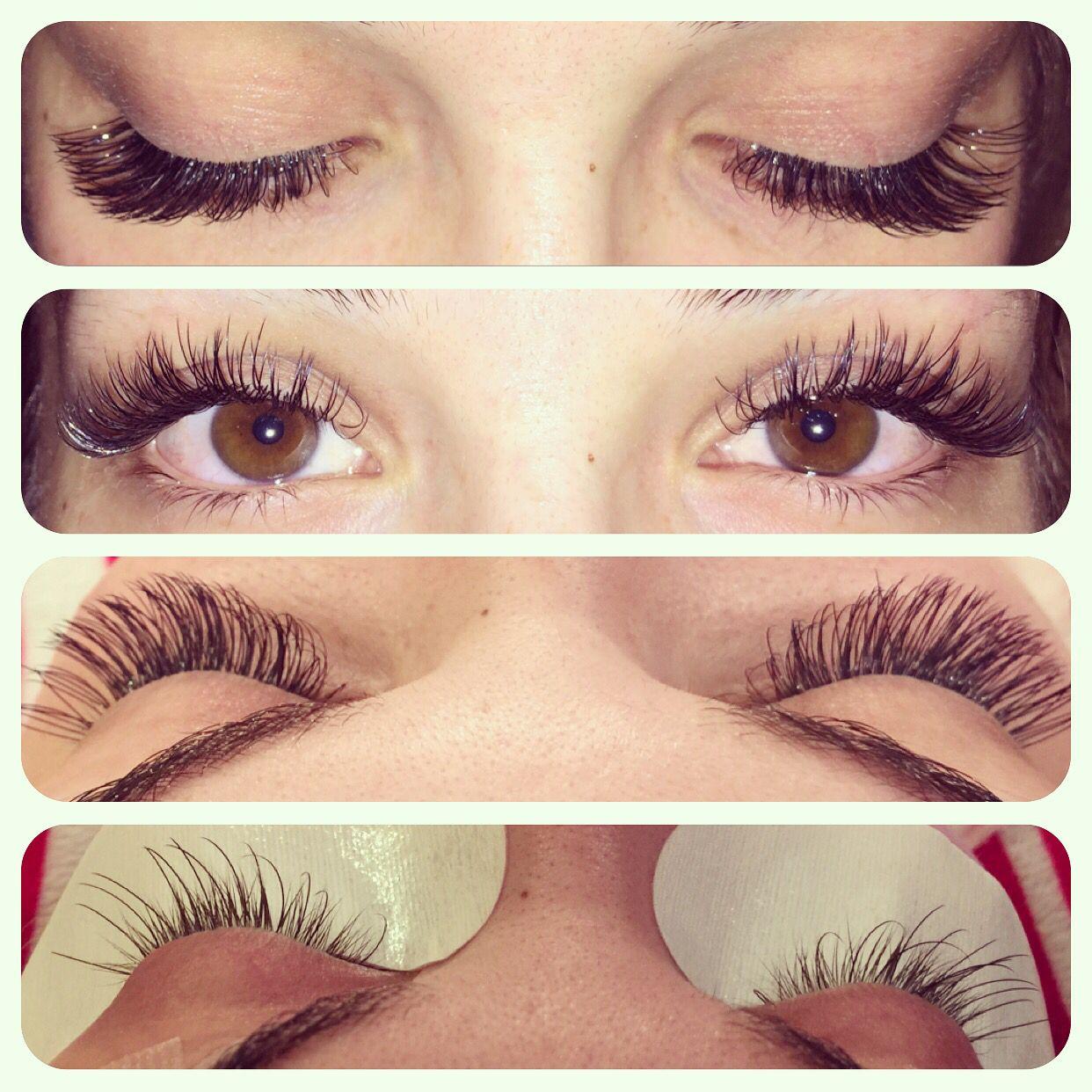Mink eyelash extensions L Curl | Mink/Classic eyelash extensions ...