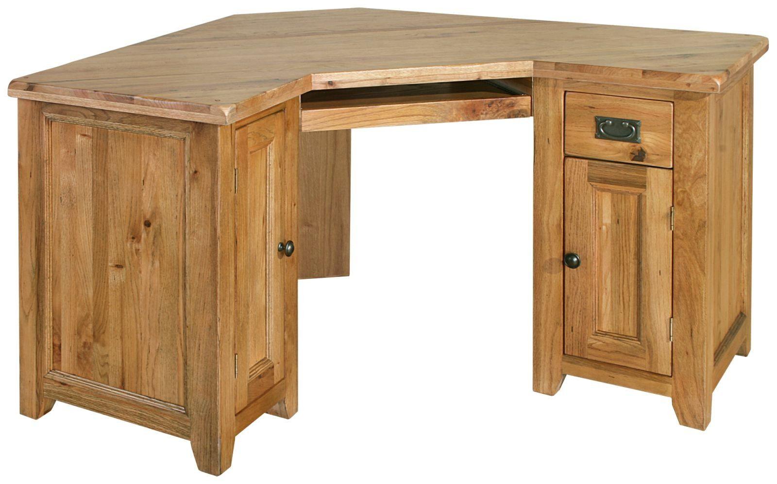 Modern Oak Corner Desk Must Have Home Design Ideas