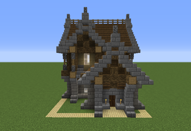 Minecraft Medieval Medieval House 7 Grabcraft Your