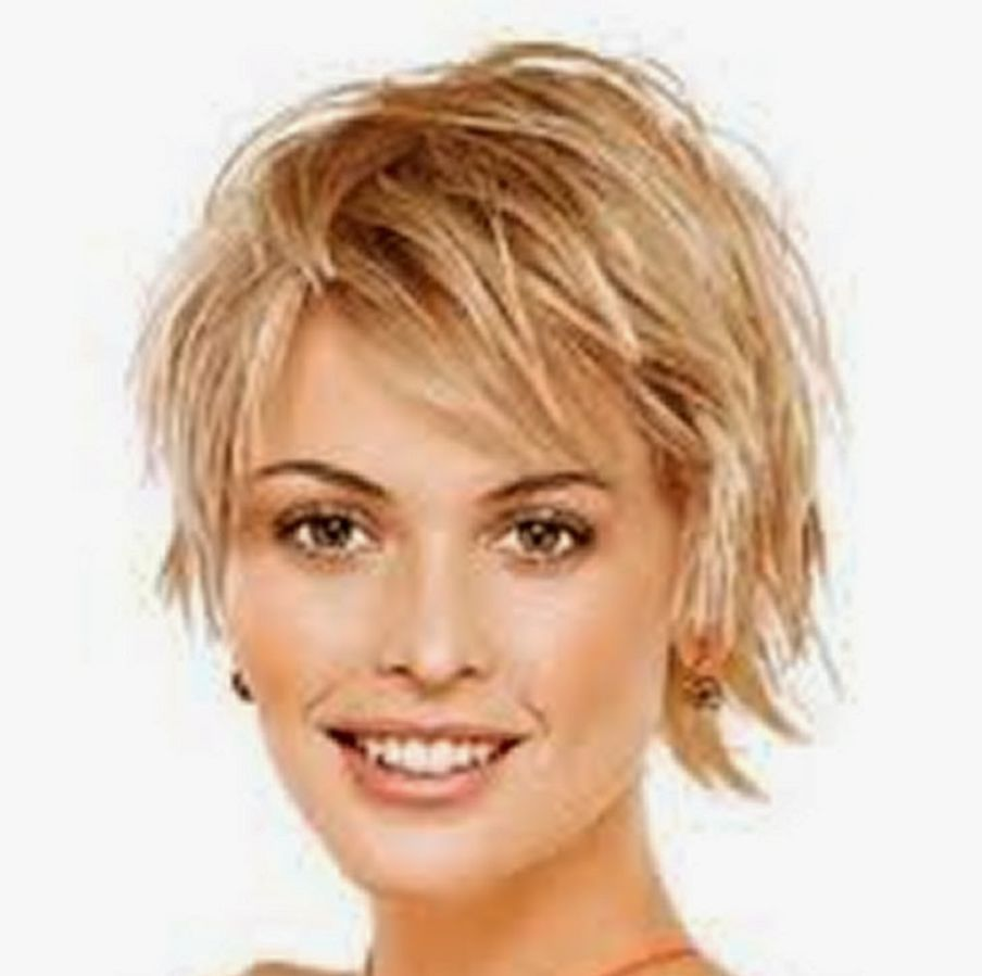 short hairstyles for fine hair and round face this short