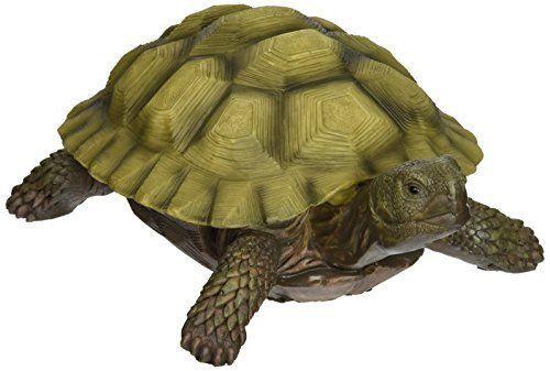 Garden Decor Gilbert Box Turtle Statue Design Toscano Multicolored Lawn Ornament Designtoscano Box Turtle Turtle Decor Turtle