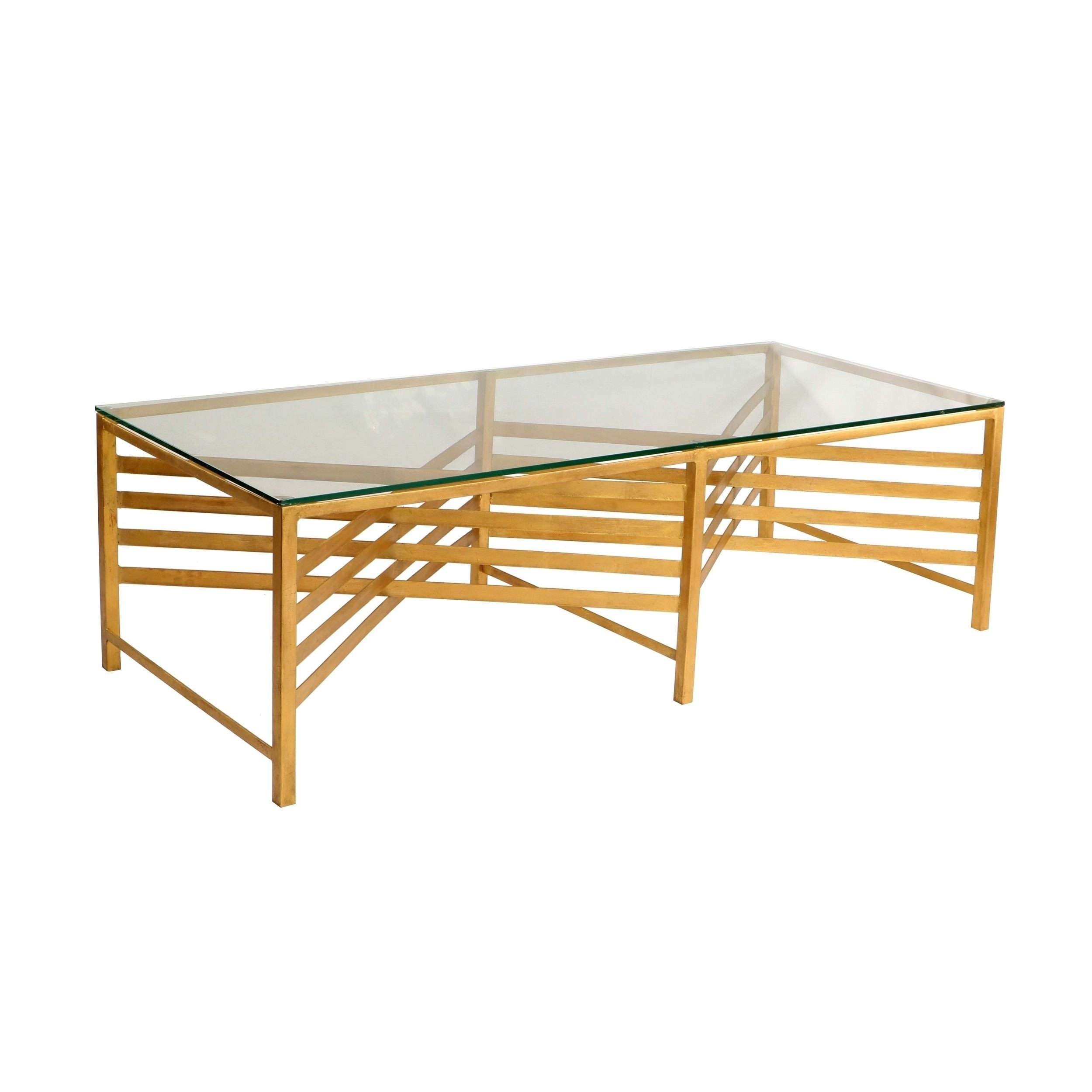 Safavieh Couture High Line Collection Lina Glass Coffee Table