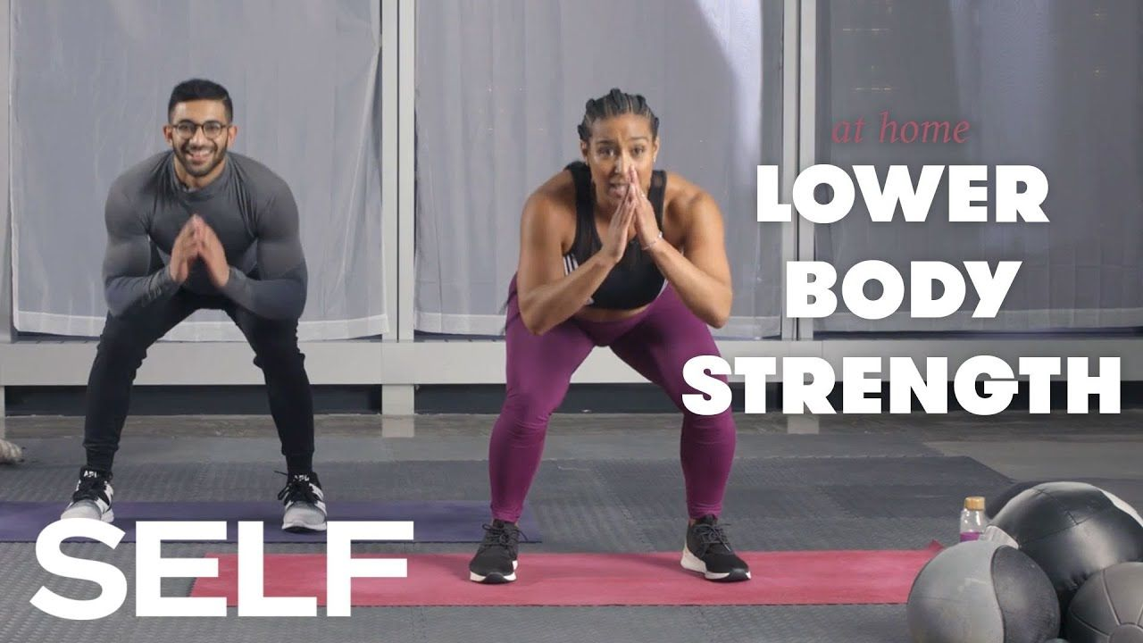 Bodyweight Workout for Runners - 15 Minute Blast