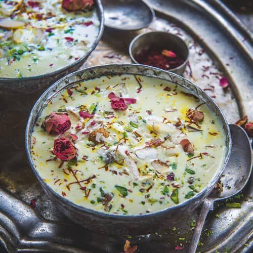 Rice kheer or Chawal ki kheer is a traditional Indian rice ...