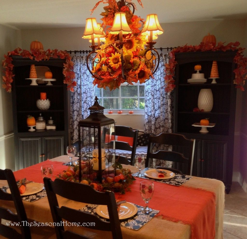 3 Chandelier Ideas For: Fall, Halloween & Thanksgiving