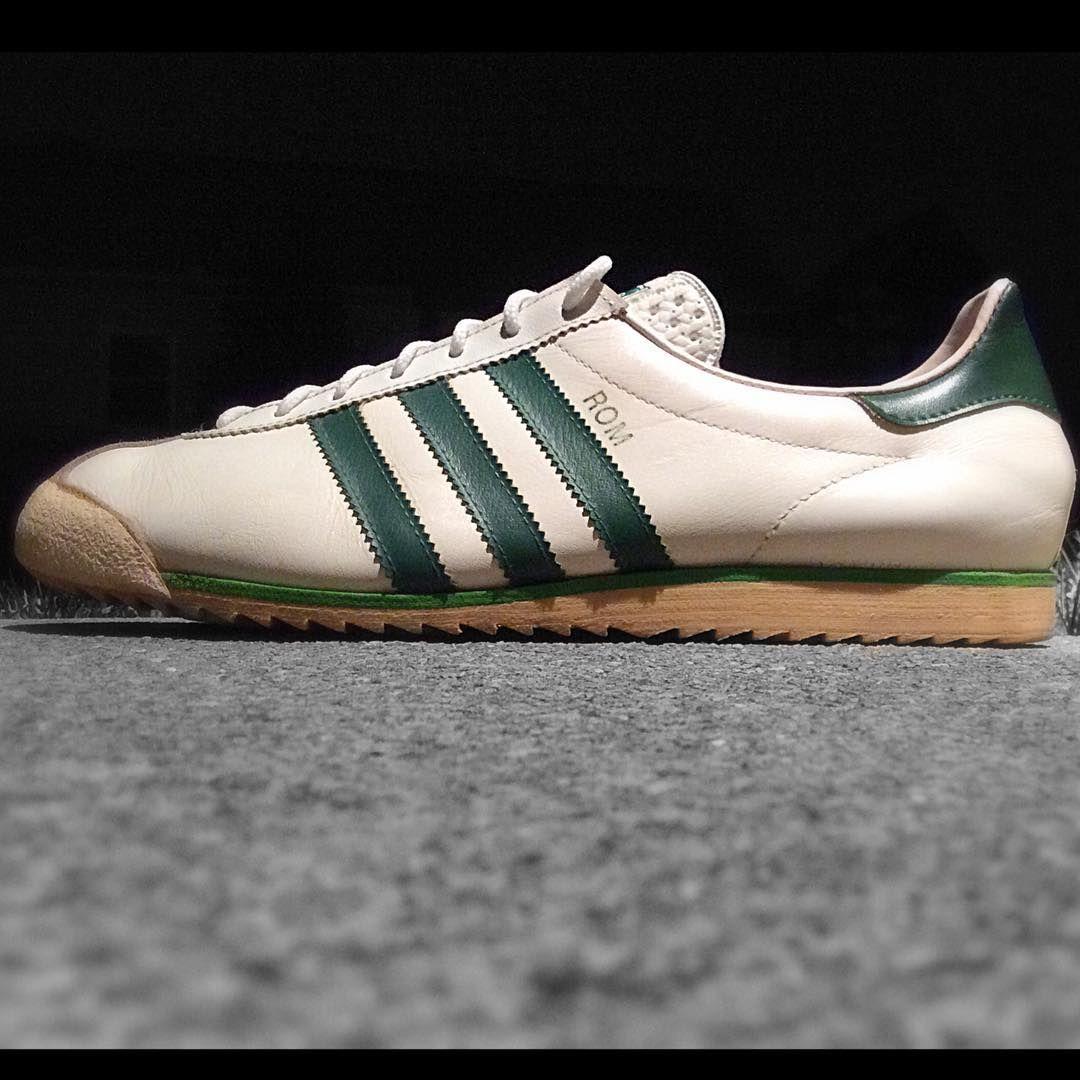 adidas Originals Rom  White Green  a37c6d71a