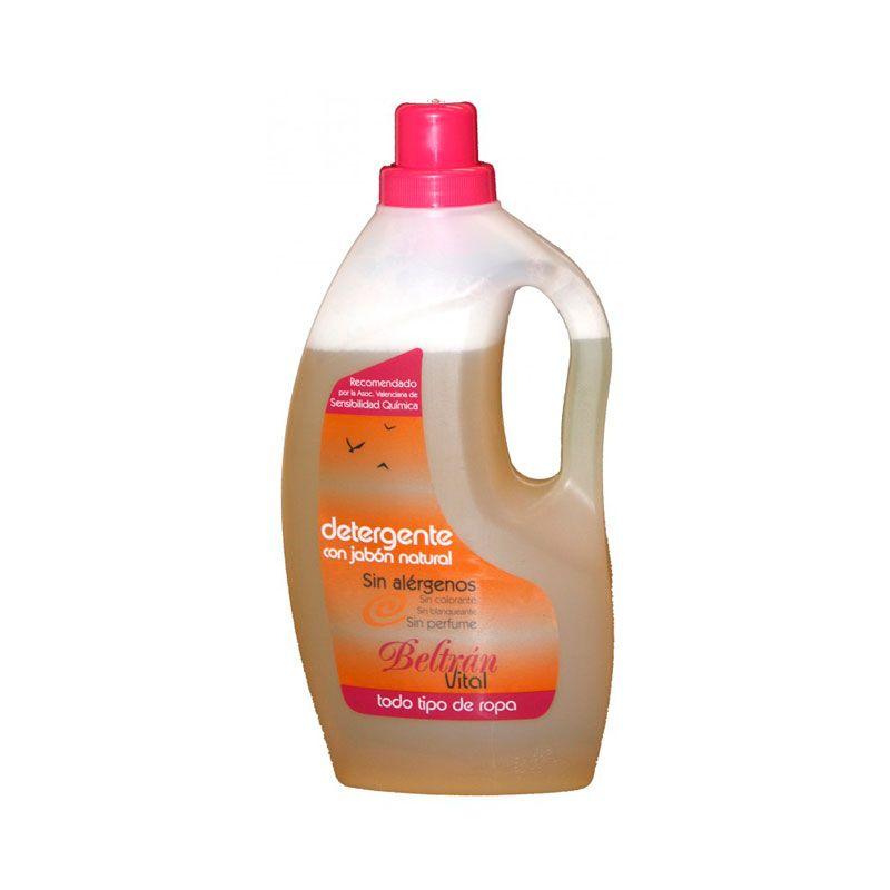 Detergente Ropa Sin Perfume 1 5 L Beltran Detergente Perfume Jabones
