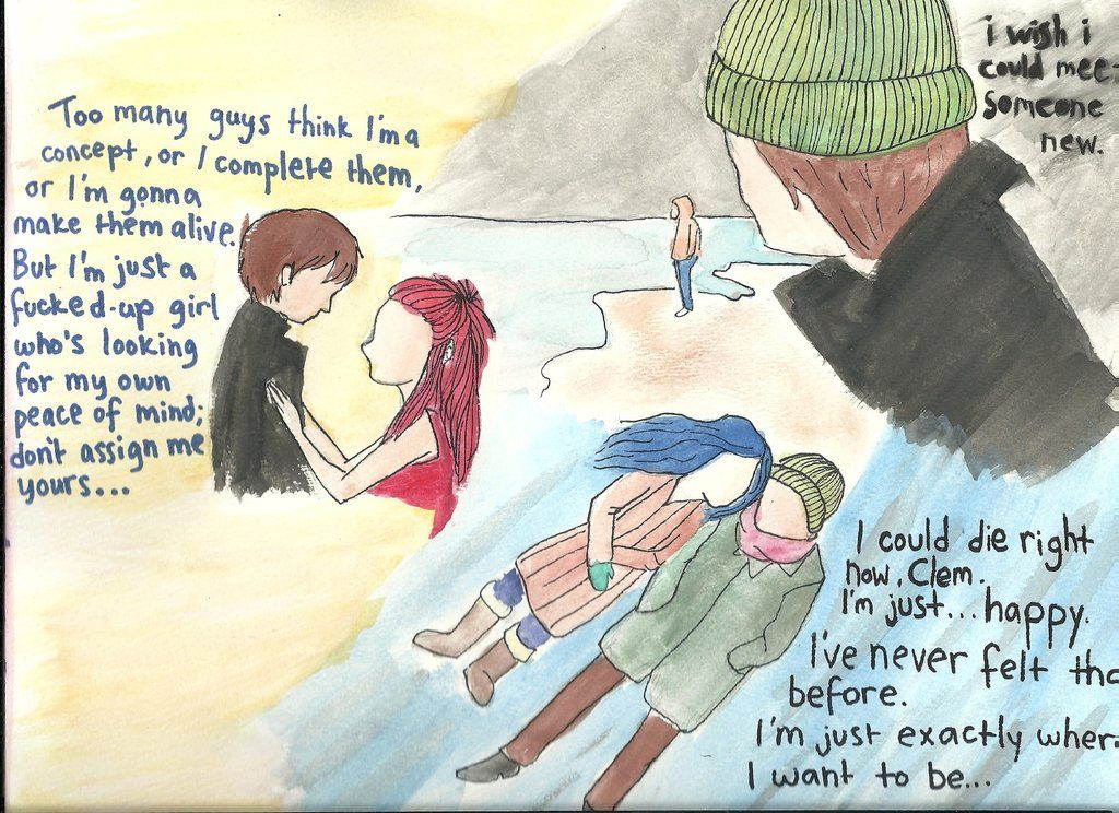 Joel and Clementine | eternal sunshine of the spotless ...