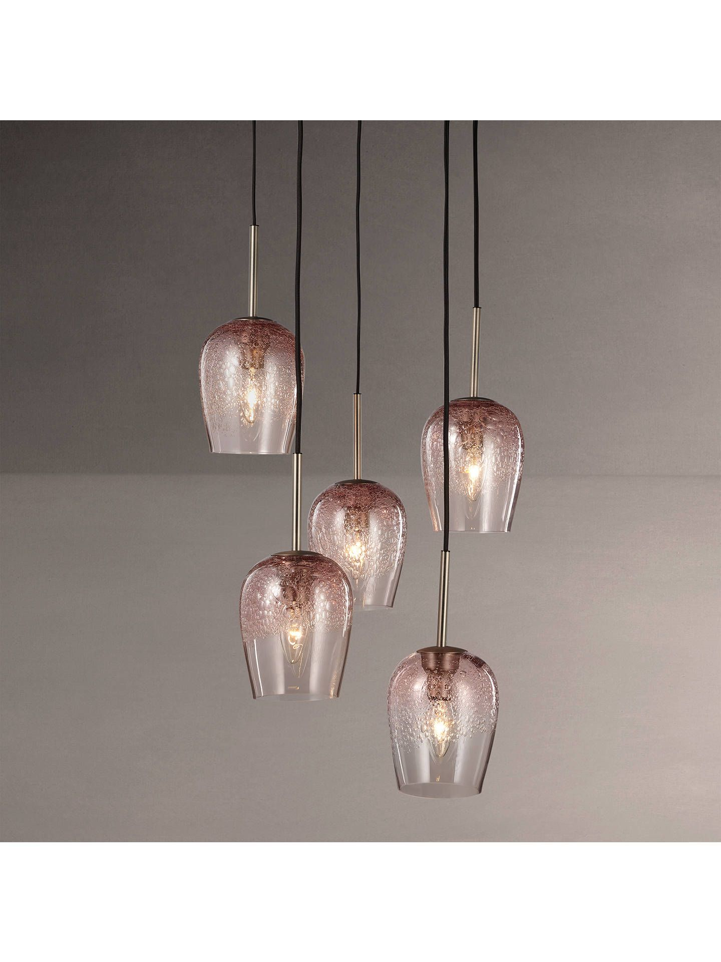 34aa31f5948 BuyJohn Lewis   Partners Olmedo 5 Pendant Bubble Glass Cluster Ceiling Light