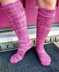 Red Dwarf Socks - The Knee High Version
