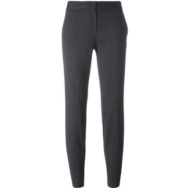 tailored cropped trousers - Grey Dolce & Gabbana DBVI9aW