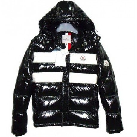 $291.29 discount moncler outlet,Moncler Shiny Thomas Mens Down Jackets  Black http://