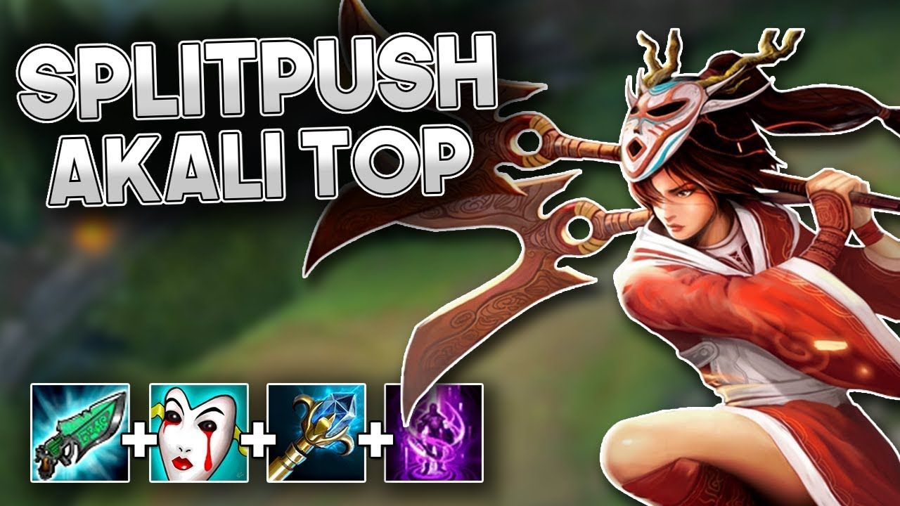 New broken splitpush tank akali top strategy (Winning 3v5)  https://www.youtube.com/watch?v=nS-MucJnVgk #games #LeagueOfLegends  #esports #lol #riot #Worlds # ...