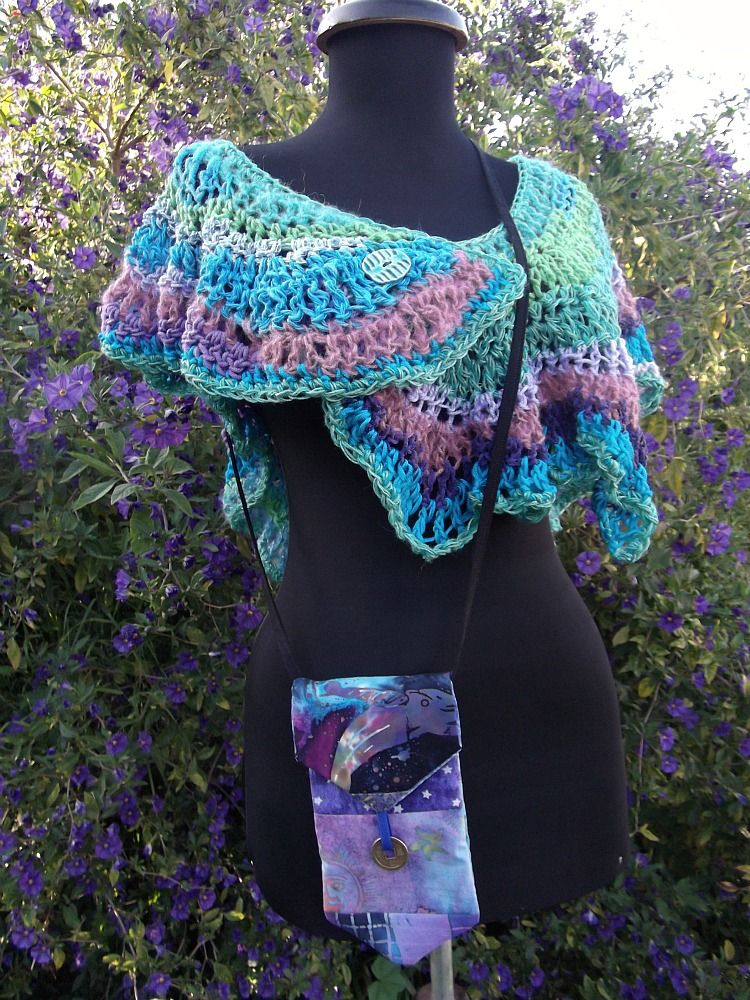 Freeform shawl | Crochet, Freeform crochet, Knit crochet