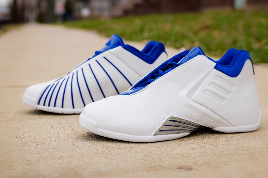Packer Shoes appears to be getting first dibs on the adidas T-MAC 3 retro  in the original