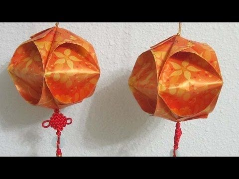 Cny tutorial chinese new year lantern using hong bao for Ang pow koi fish tutorial