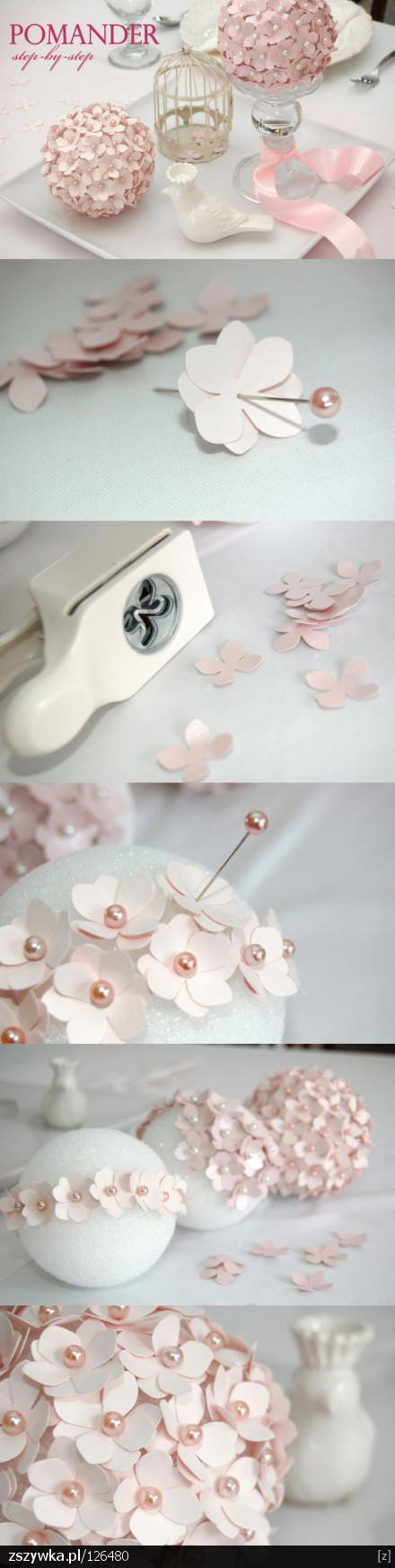 Wedding Centerpieces Diy Diy Wedding Pomander Flower Balls