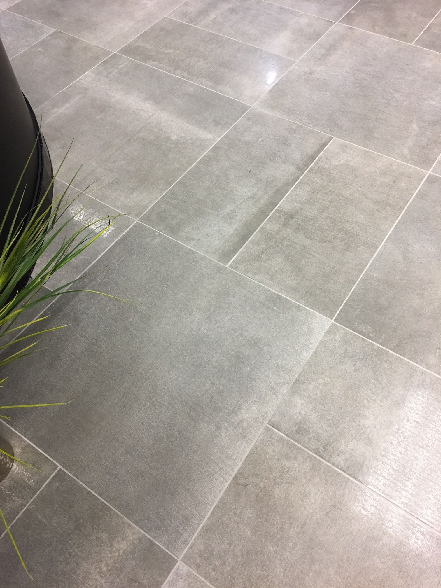 Love This Installation Of Reside Ash Using The 24x24 In The Matte