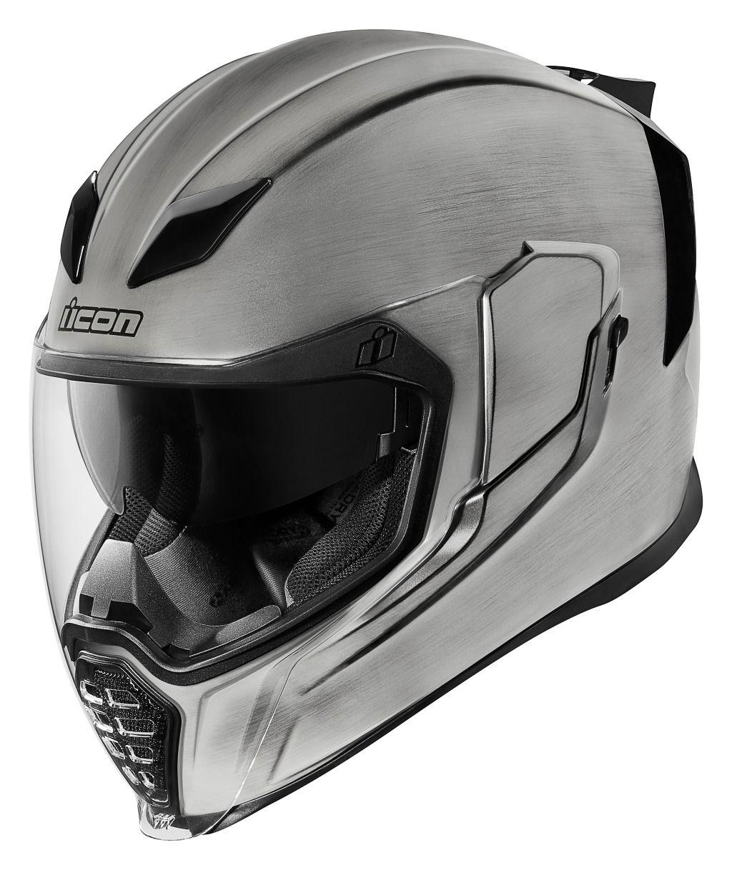 Icon Airflite Quicksilver Helmet Das Mechanica Pinterest Body Protector Inner Scoyco Am03 290 Optional Faceshield 40