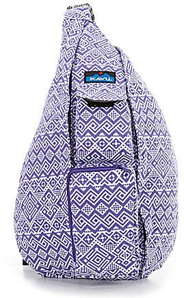 c3604c50aa Kavu Printed Rope Messenger Bag This bag is so versatile! I have it in  Black and white called Ink Blot.