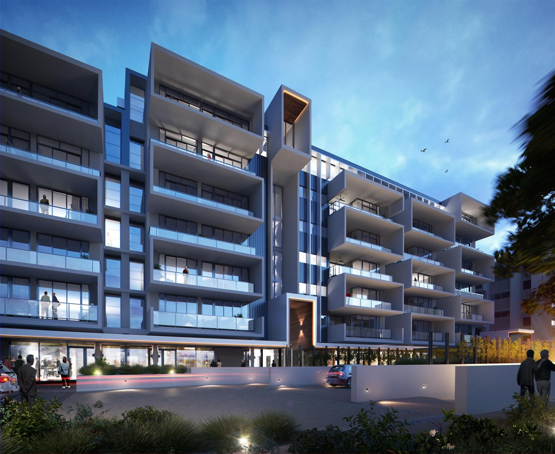 YERONGA VILLAGE BUILDING 5 DESCRIPTION 98 UNIT APARTMENT LOCATION QLD Commercial ArchitectureArchitecture Interior DesignExterior