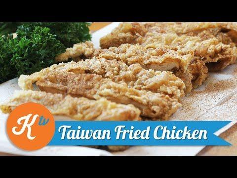 Taiwanese Fried Chicken Recipe Yuda Bustara Youtube Ayam Goreng Masakan