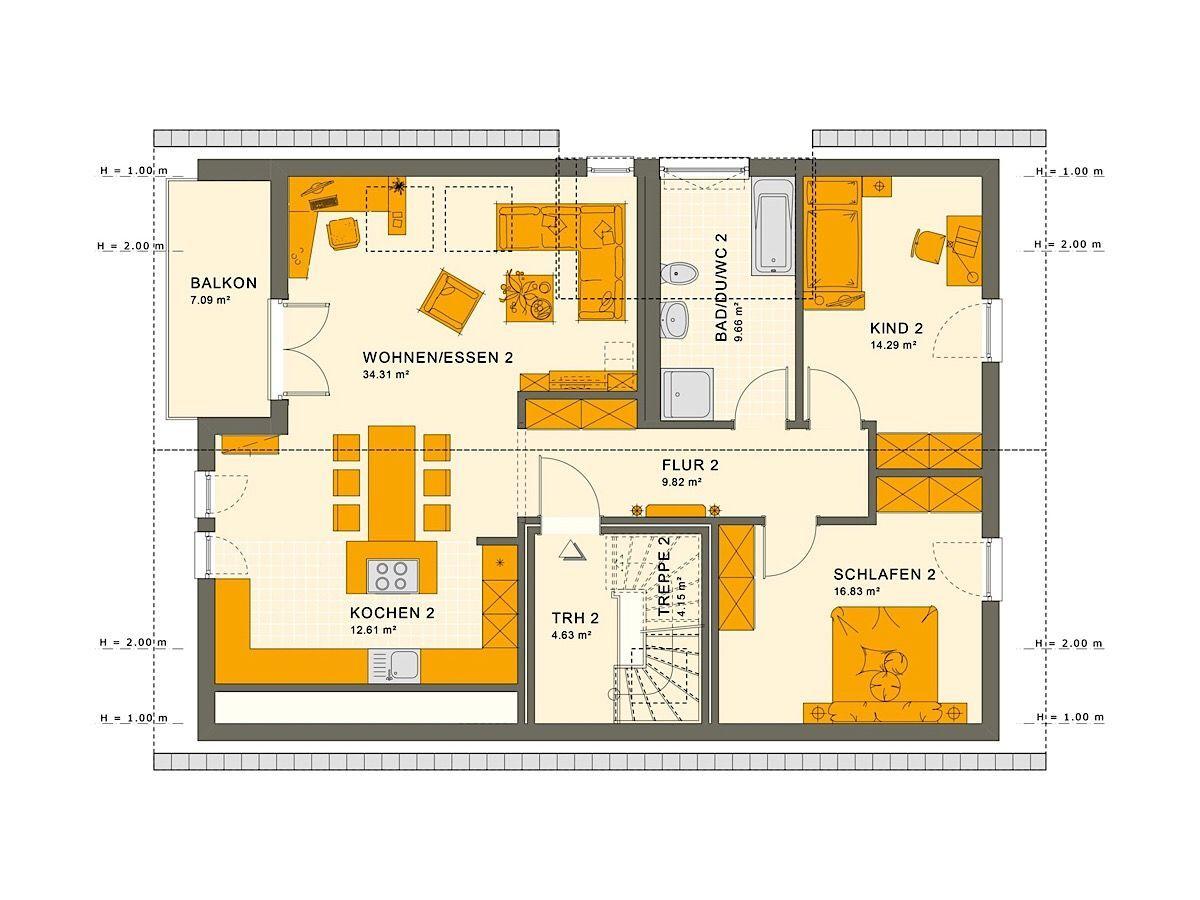 2 3 Zimmer Wohnung