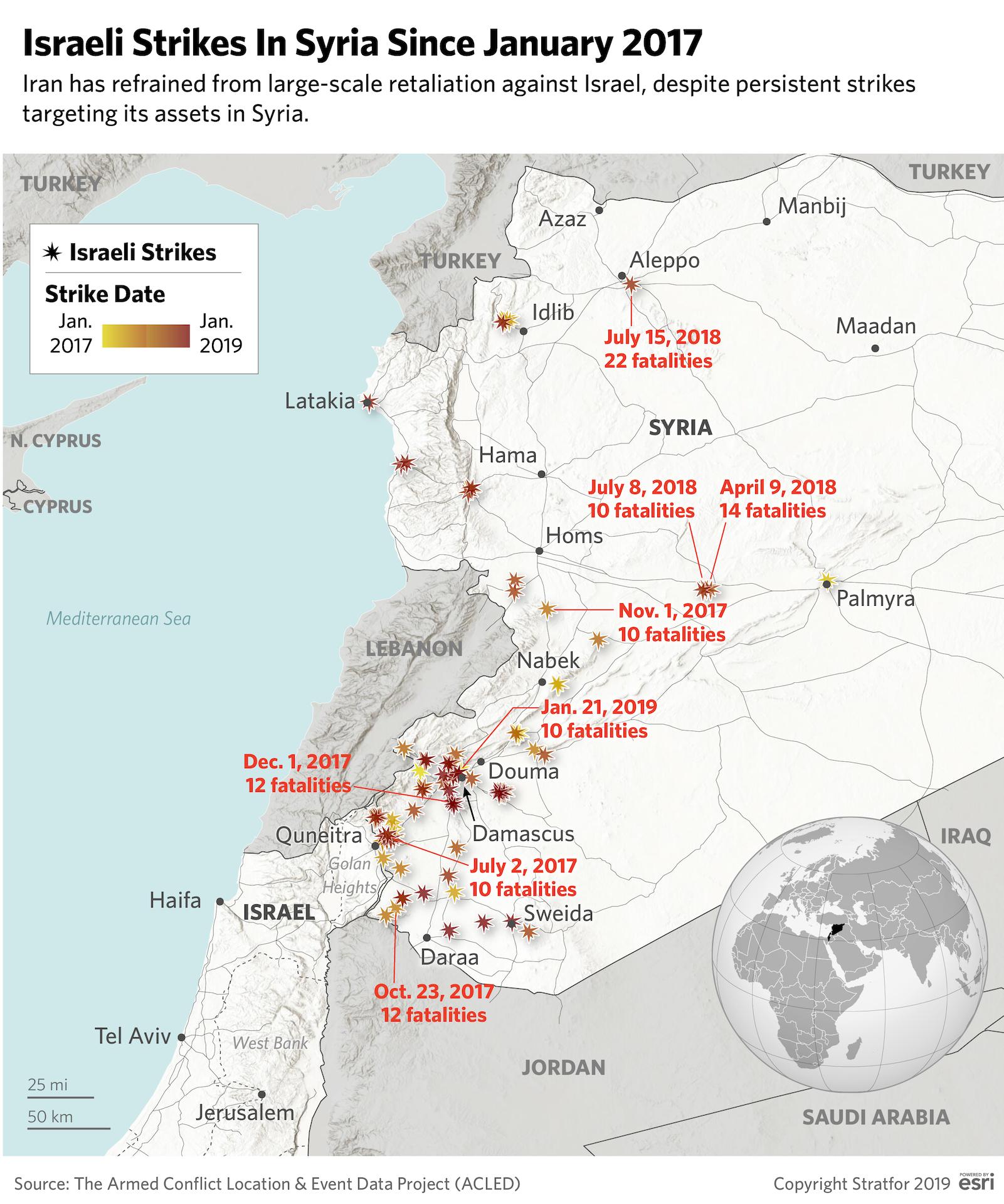 Iran Holds Off On Retaliating To Israeli Strikes In Syria Syria Israeli Quds Force