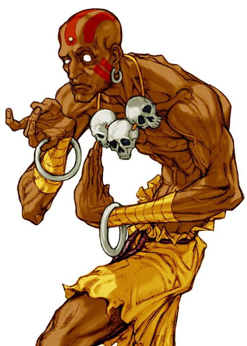 Dhalsim (Capcom vs SNK 2: Mark of the Millennium 2001) - Artist: Kinu Nishimura