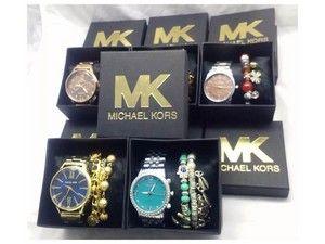 6c96a152d9a Venha comprar Replica de Relógio Michael Kors MK primeira linha dourados