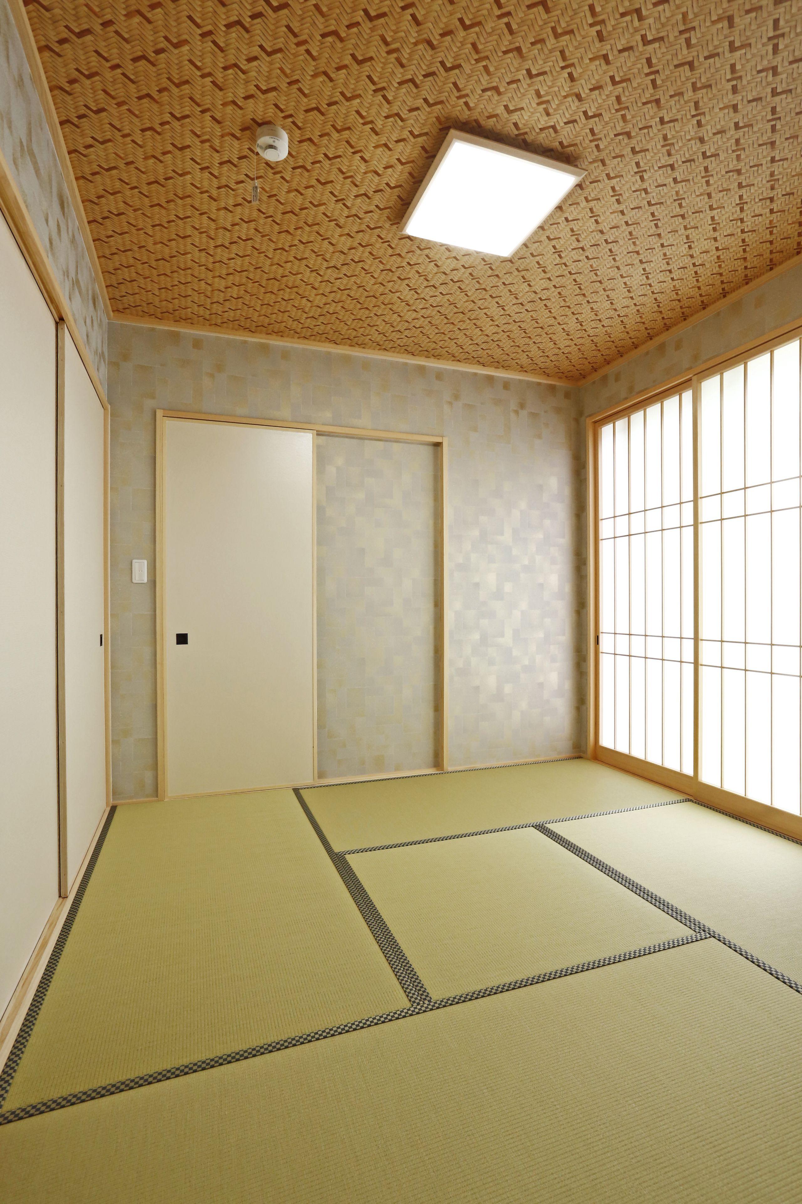 現代和風に仕上げました 障子が入るとグッと和室っぽくなりますね