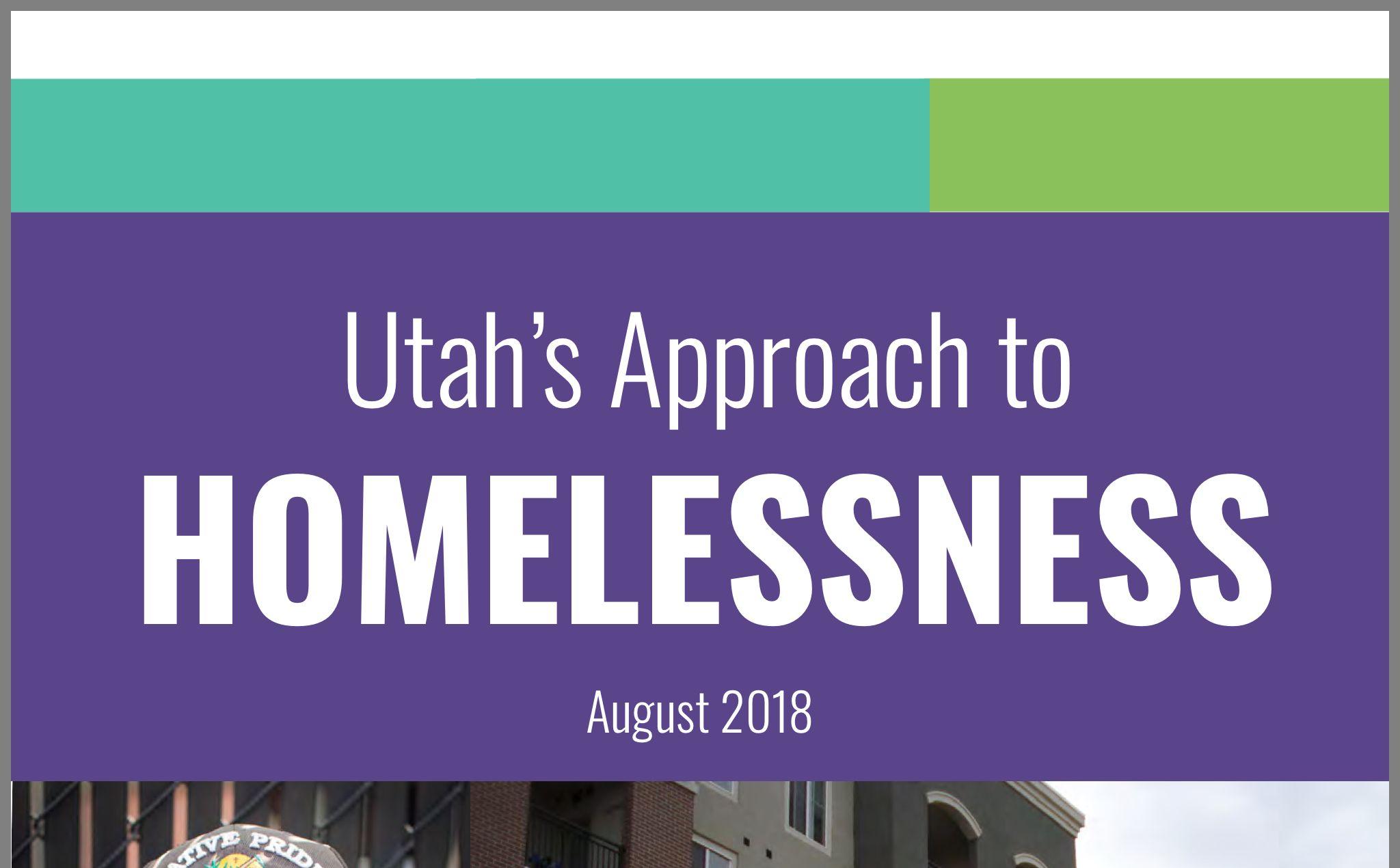 Circa 2018 Using Housing First Approach Approach Homeless Utah