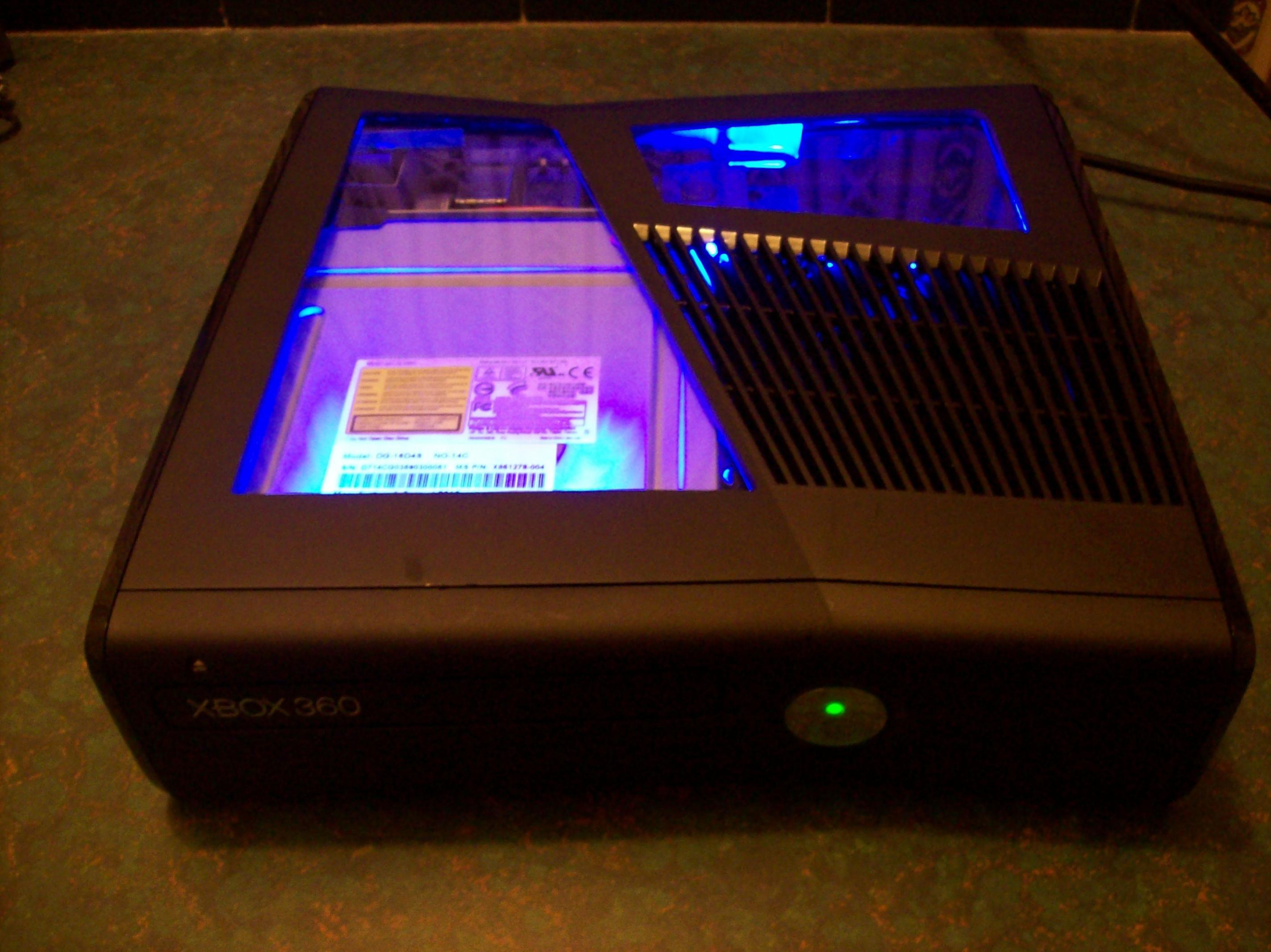 Xbox 360 E Case Mods