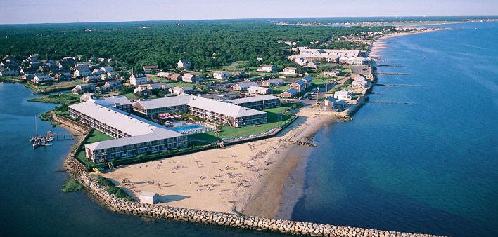 Aerial View Of The Red Jacket Beach Resort South Yarmouth Ma