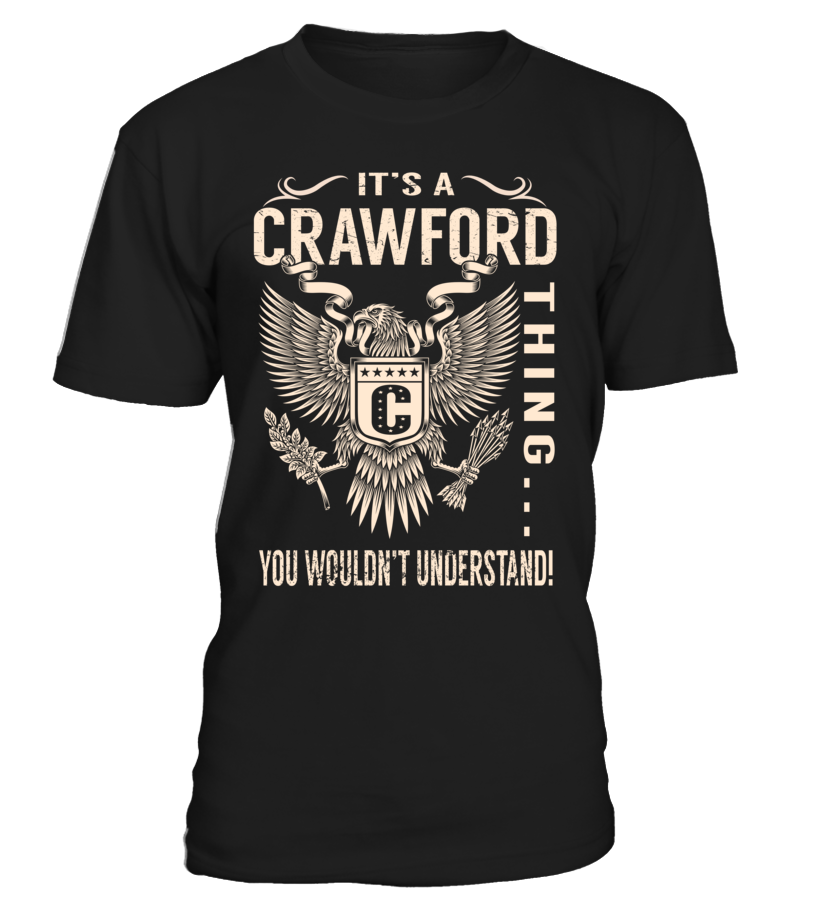 It's a CRAWFORD Thing, You Wouldn't Understand