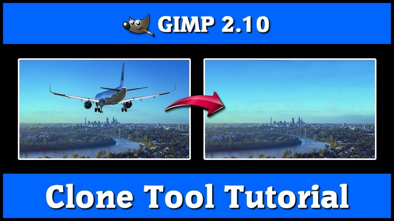 GIMP Tutorial [ GIMP 2.10 Photo Editing Tutorial