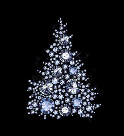 Diamond Tree (With images) | Tree, Christmas tree, Christmas