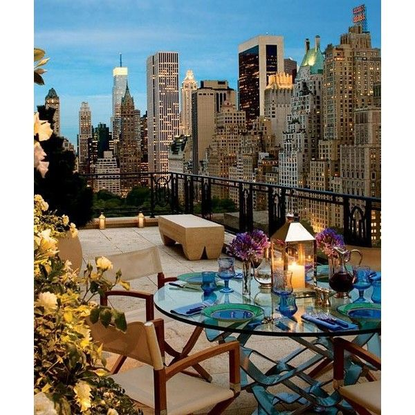 Lincoln Square New Construction Manhattan ❤ liked on Polyvore