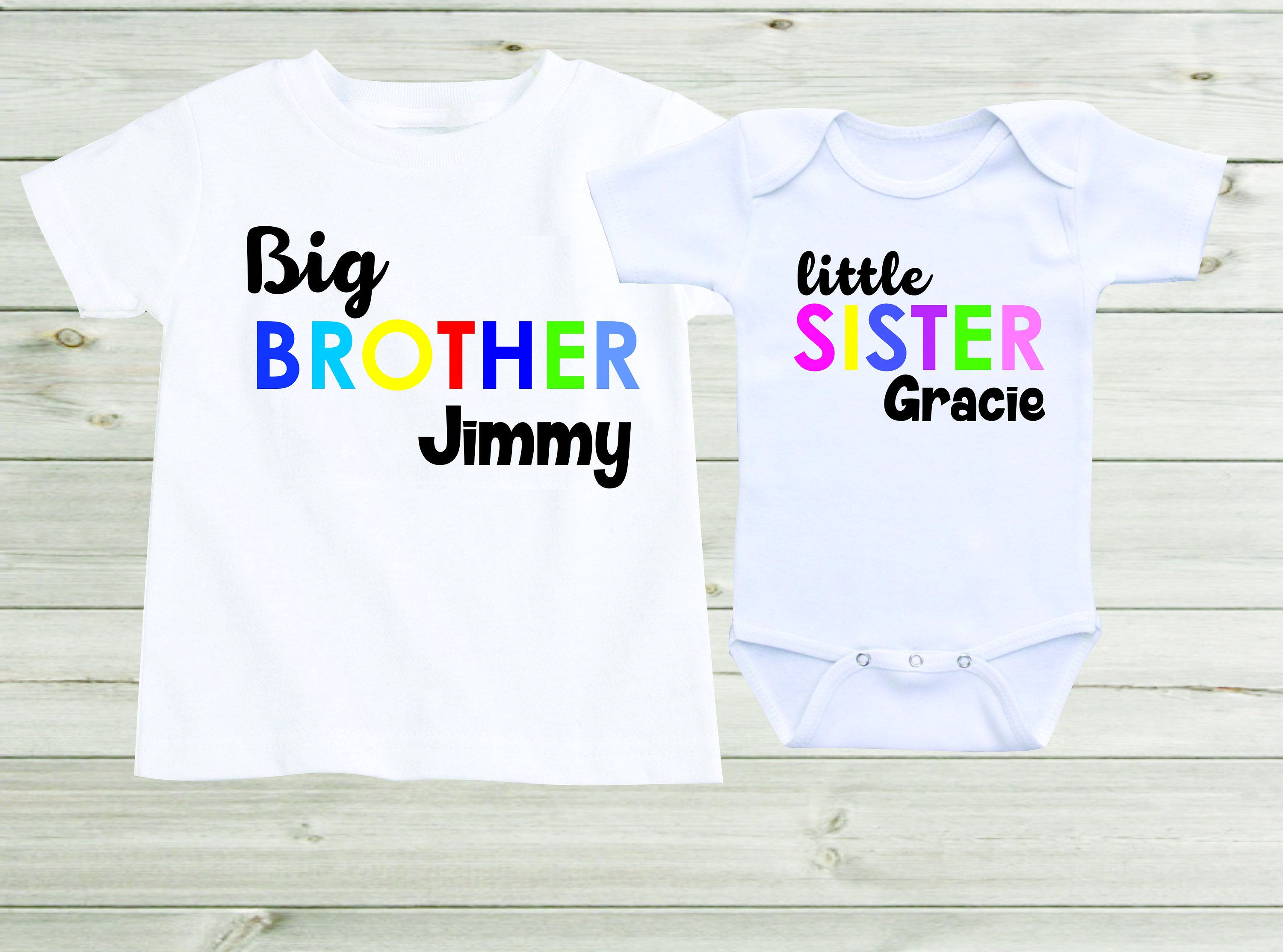 Bodysuit New Sibling Shirt Best Baby Sister Ever Personalized Purple Long Sleeve Bodysuit New Baby Sister Gift Embroidered Shirt