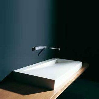 Corian Waschbecken badmöbel corian folio wpflae01d waschbecken aus corian b 120