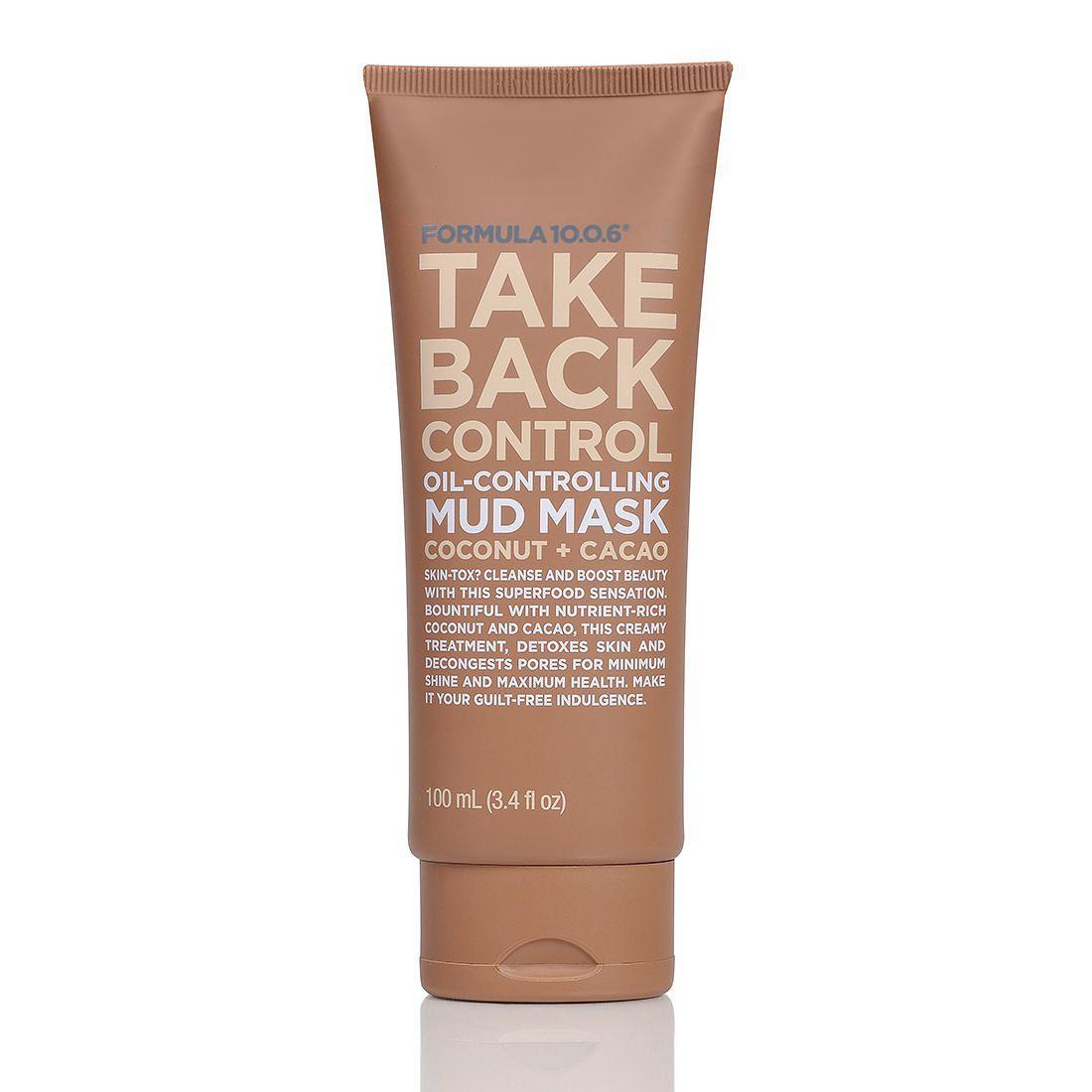 Formula 10 0 6 Take Back Control Mud Mask Target Australia Mud Mask Skin Care Facial Skin Care Routine