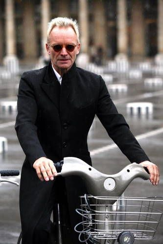 Sting on a scooter