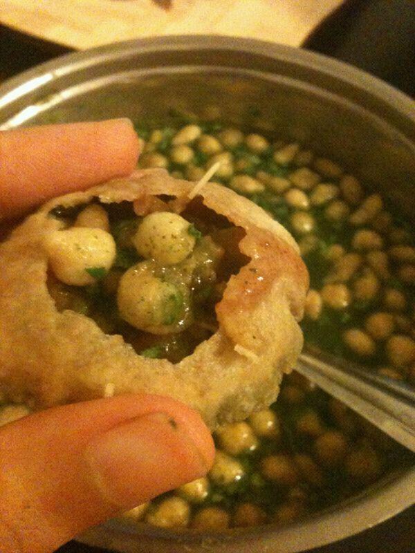 My favorite Indian street food - Home made Pani puri - I