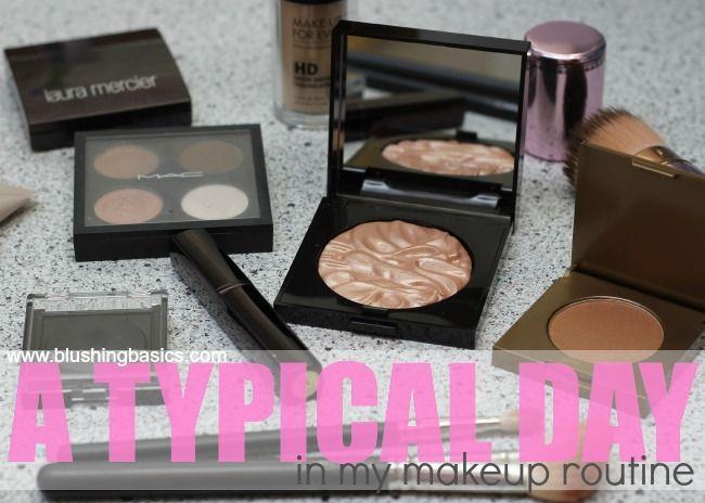 blushing basics: Typical Daily Makeup Tutorial